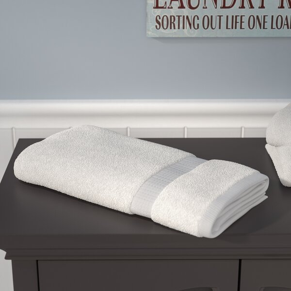 Liam 100% Cotton Bath Towel by Three Posts